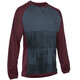 ION Scrub_Amp - Maillot manches longues Homme - gris/rouge